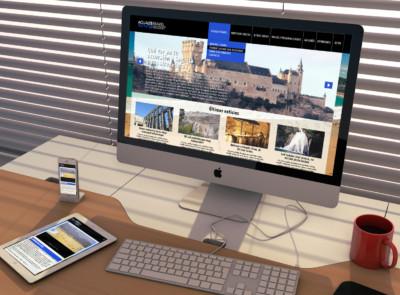 Diseño web Acualis Travel