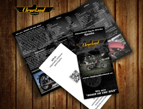 Material para feria Cleveland Cycle Werks